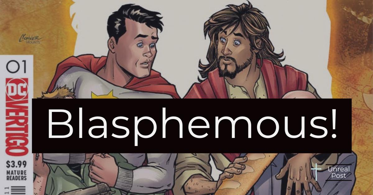 DC Comics Blasphemes God by Portraying Jesus Christ as Comic Book Hero