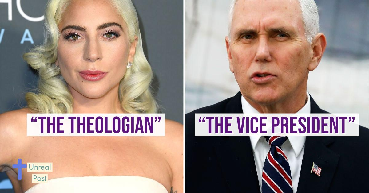 Vice President Mike Pence is the Worst Representation of Christianity – Lady Gaga
