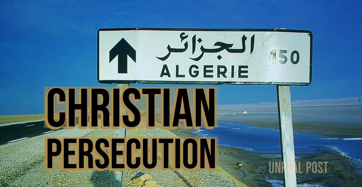 Christian Persecution in Algeria – Pastor is Forced to Shut Down Church