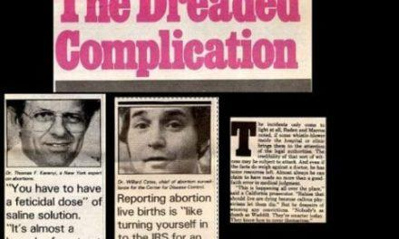 Babies have accidentally survived abortions for decades. Here's proof.