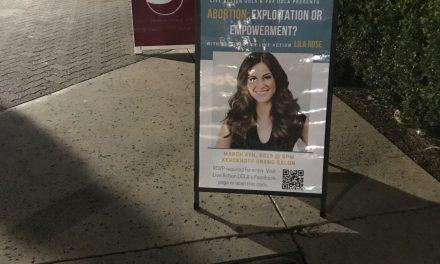 Signs promoting upcoming Lila Rose event stolen, vandalized at UCLA