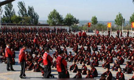 "Shaolin Martial Arts Schools Forced to Take ""Red Road"""