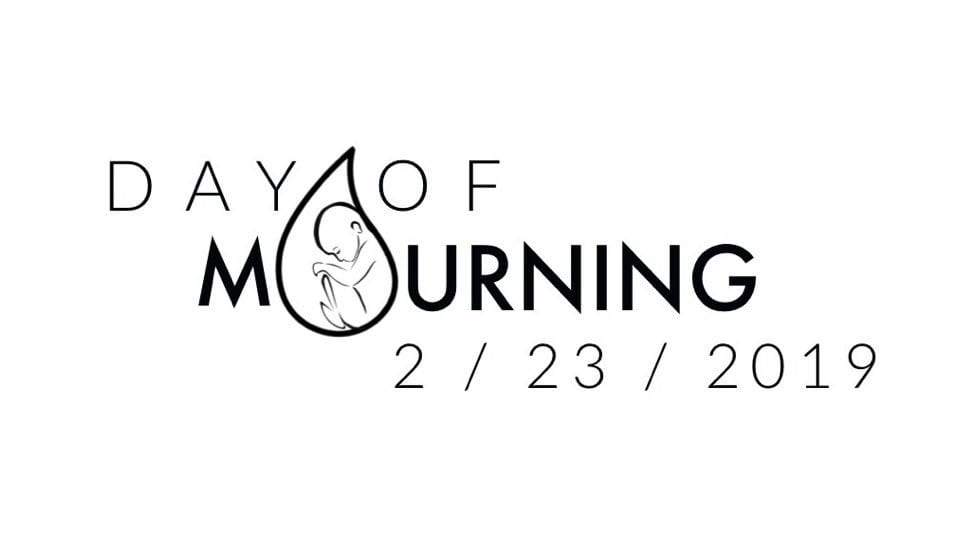 National Day of Mourning on Saturday Will Protest New York Legalizing Abortions Up to Birth