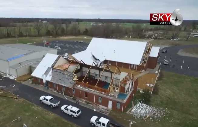 40 Children Miraculously Unharmed Singing 'Whole World in His Hands' as Tornado Tears Roof From Kentucky Church