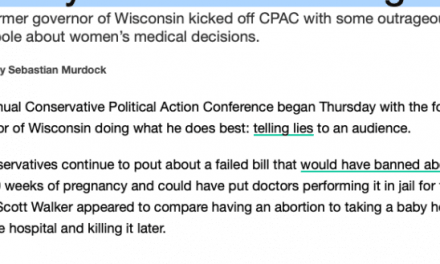 FAKE NEWS: Media misleads on Scott Walker's abortion remarks