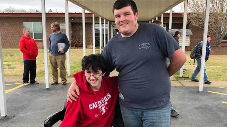 Arkansas Teen Saves for 2 Years to Buy Friend Electric Wheelchair