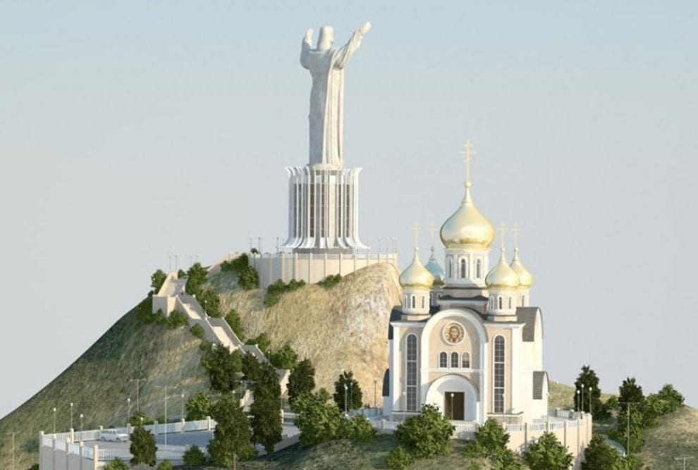 Mammoth statue of Jesus planned for Russian site once set aside for Lenin