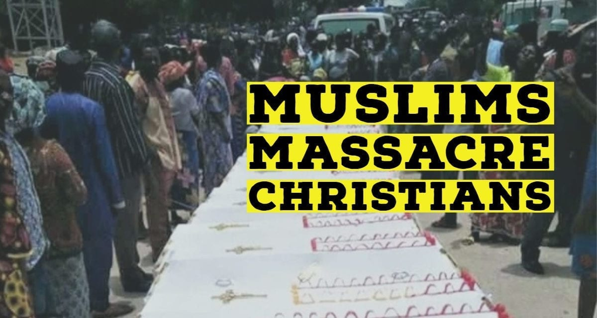 Muslim Fulani Herdsmen Massacre Christians after Baby Dedication in Nigeria