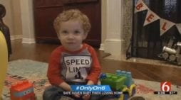 Oklahoma Baby Surrendered Through Safe Haven Law Now Thriving as Toddler With Forever Family