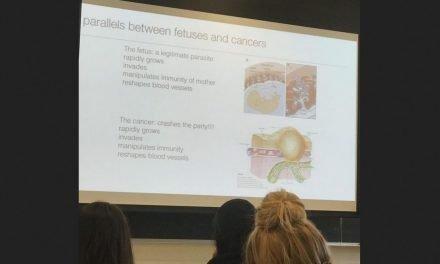 College Professor Teaching Future Doctors Compares Unborn Babies to Parasites