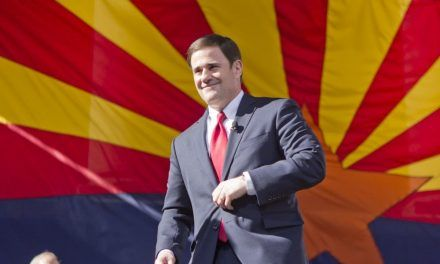 Arizona Governor Doug Ducey Does Not Given to Pressure from Arizona's Radical Left Groups to Take Down Easter Post
