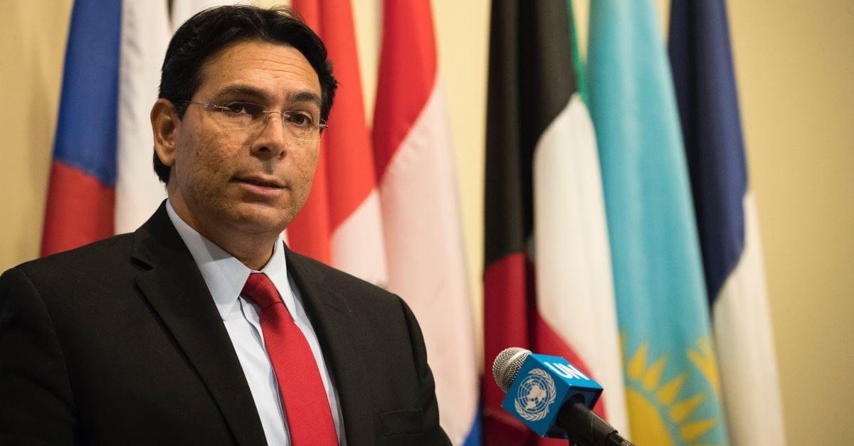 Israel's Ambassador Uses Bible to Prove Jewish People's Claim to Israel at U.N. Session