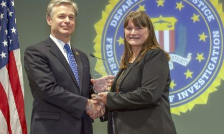 FBI Presents Award to Baptist Church for Fighting Against Human Trafficking