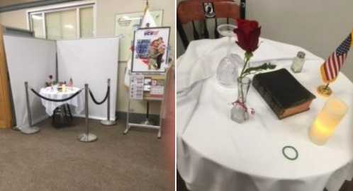 Church-State Separation Group Files Suit After Bible Returned to POW/MIA Display at Veterans Hospital