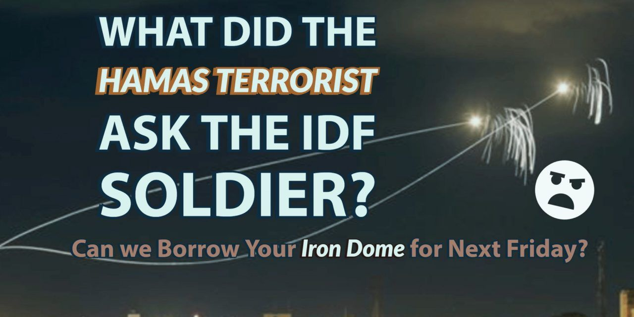 "U.N. condemns Israel, U.S. for not sharing Iron Dome with Hamas ""Not Satire"""