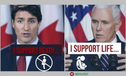 """Mike Pence Tells Justin Trudeau Trump Administration Will """"Always Stand for the Sanctity of Human Life"""""""