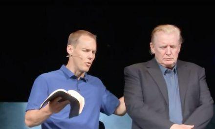 Trump Surprises Evangelical Church with Visit; Pastor Prays for Him