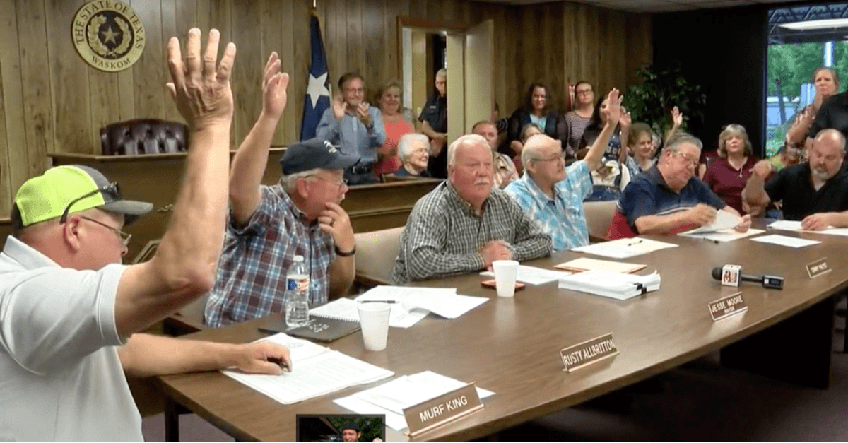 Texas Town Becomes 'Sanctuary City of the Unborn' as Citizens Cheer