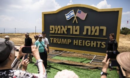 Trump Heights is the Name of the New Golan Heights Settlement in Israel