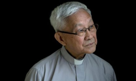 Catholic Priest Appears in Video Pledging Hong Kong's resistance to Chinese government