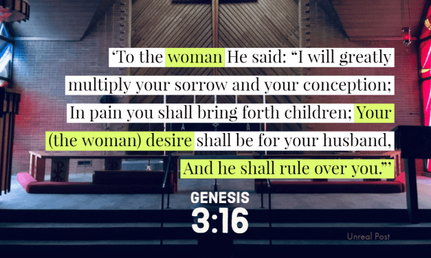 Should Baptist Women Be Preachers? God Prescribed the Order of Things in the Beginning