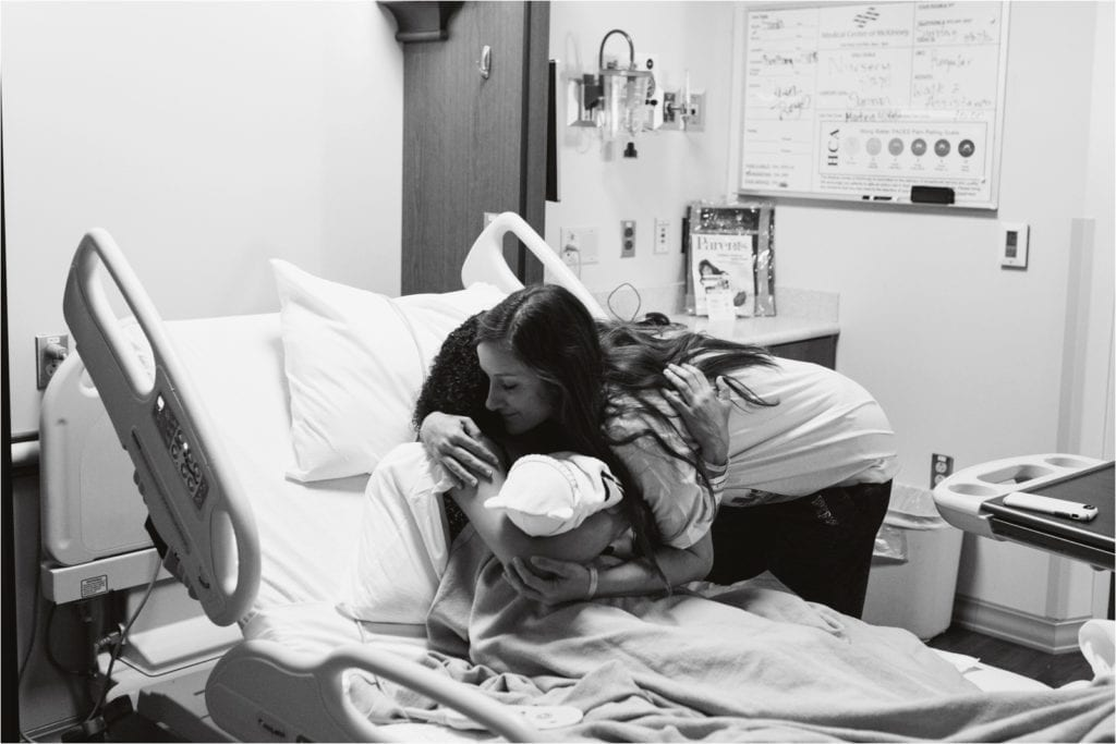 POWERFUL PHOTOS: Young Mom Who Chose Life Gives Newborn to Adopting Family