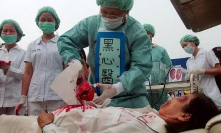 China is Harvesting Organs of Political Prisoners, Sometimes While They're Still Alive