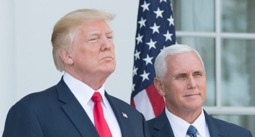 """Trump Confirms Pro-Life Mike Pence Will be His 2020 Running Mate: """"He's Been a Terrific Vice President"""""""
