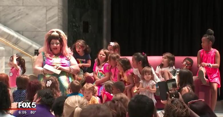 Atlanta Mayor Hosts Drag Queen Story Hour at City Hall