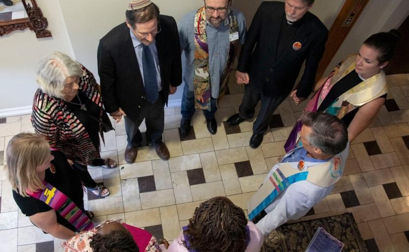 Demonic clergy gather to 'bless' scandal-plagued Texas abortion facility