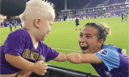 Soccer Player and Little Boy Share a Heartwarming Fistbump With Their Partially Formed Arms