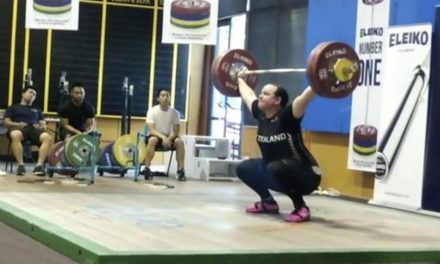 Gender-confused male athlete takes gold medals in women's weightlifting
