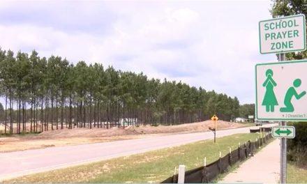 'School Prayer Zone' Signs Showing up Near South Carolina Schools