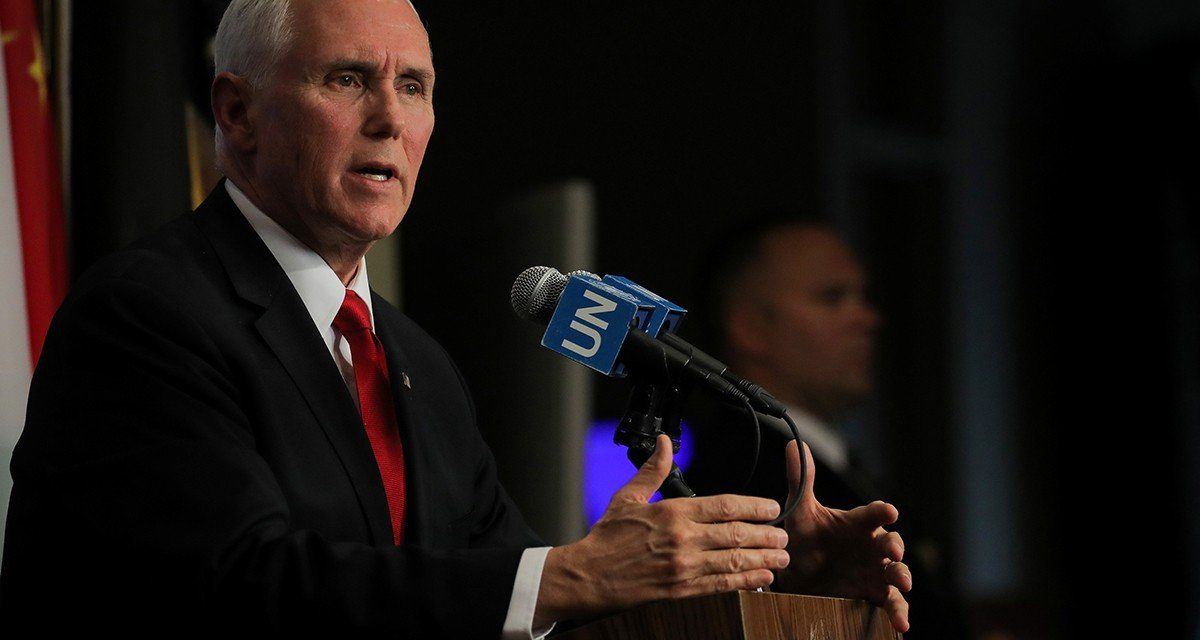 Vice President Pence Says Daily Prayer and Bible Reading Sustain Him in Life and Politics