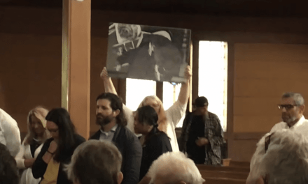 Video: Portland Catholics Protest Conservative Priest DURING Service, Boo and Interrupt