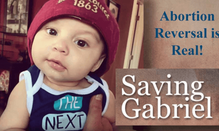 His Mom Took the Abortion Pill But Immediately Changed Her Mind, Thankfully Gabriel Survived the Abortion