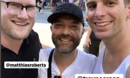 Josh Harris Gay Pride Parade Photos Reveal Much
