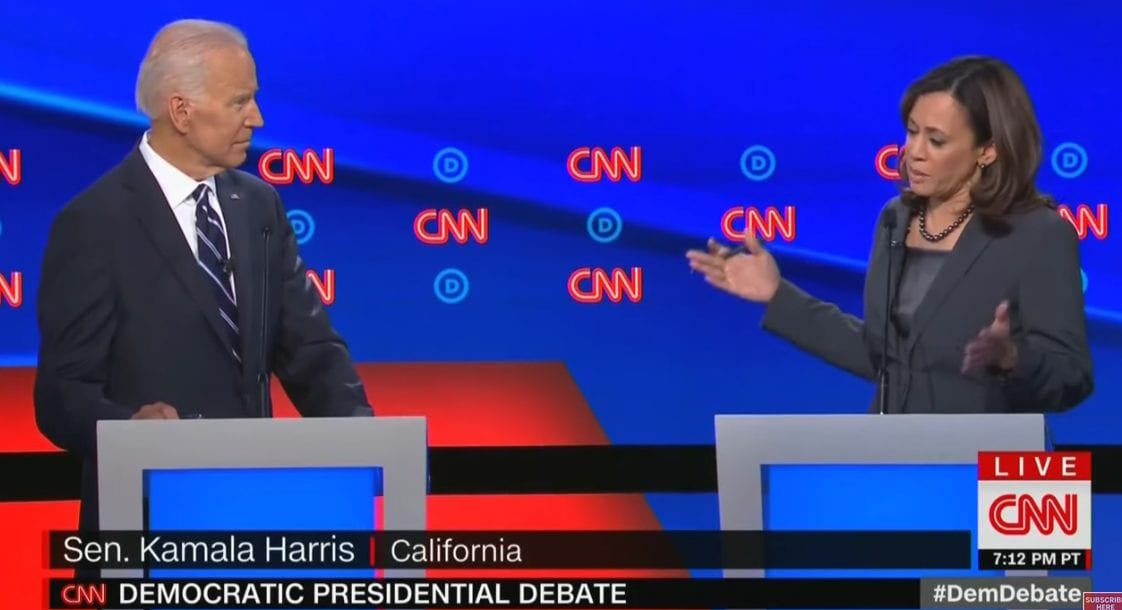 Kamala Harris Brags to Joe Biden During Democrat Debate: I'm More Pro-Abortion Than You