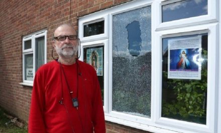 """Abortion Activists Smash Christian Man's Window After He Posts """"Pray to End Abortion"""" Sign"""