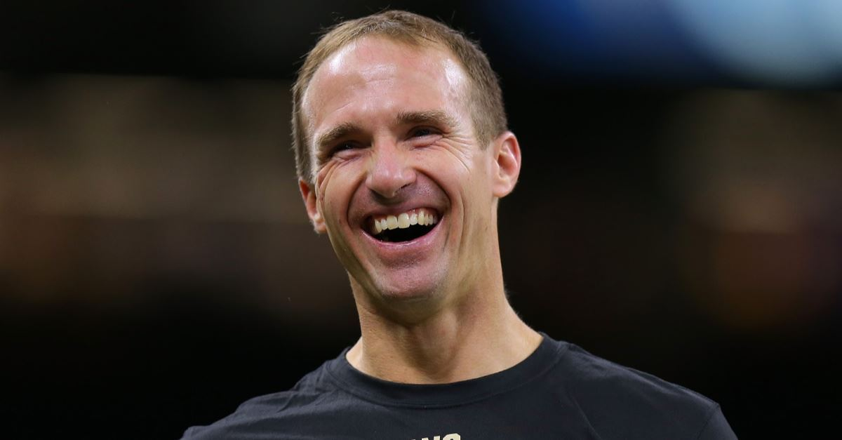 Saints QB Drew Brees Urges Students: 'Live Out Your Faith,' Bring Bible to School