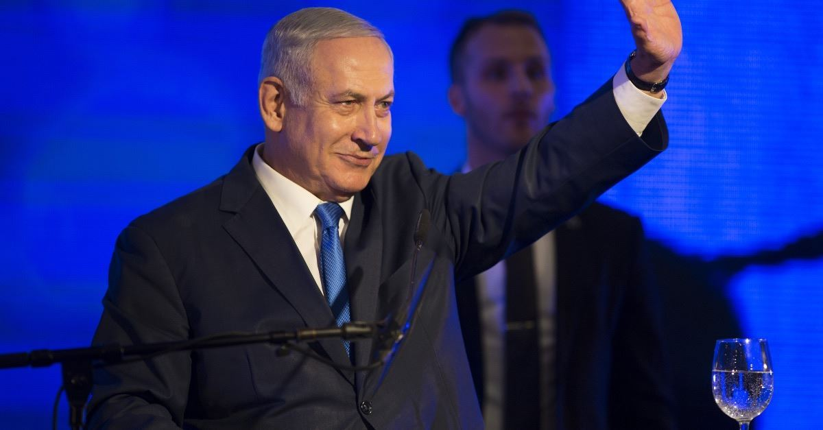 Israeli Prime Minister Benjamin Netanyahu Vows to Annex Parts of the West Bank if He Wins Election