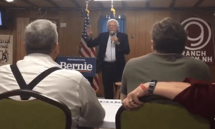 "Pro-Abortion Bernie Sanders Snaps at Crying Baby During Campaign Stop: ""Could You Keep That Down?"""