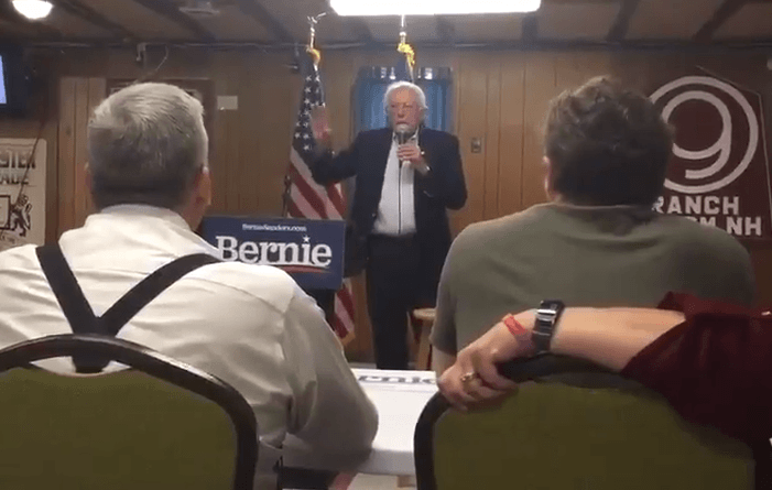 """Pro-Abortion Bernie Sanders Snaps at Crying Baby During Campaign Stop: """"Could You Keep That Down?"""""""