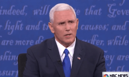 "Vice President Mike Pence Makes It Clear to Joe Biden: ""I'm the VP of the United States of America"""