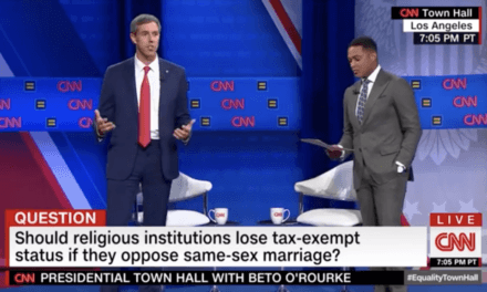 Beto O'Rourke Says It Will Be 'Priority' to Revoke Tax Exempt Status of Christian Churches