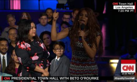 Crazed Black Man Dressed Like Woman Takes Over Mic at CNN's 'LGBTQ' Town Hall Meeting