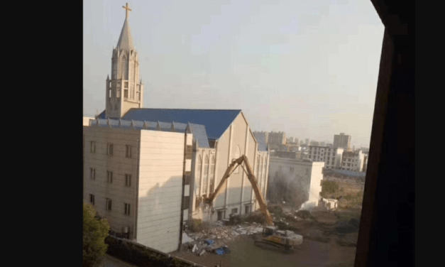 Chinese Communist Government Demolish Megachurch, Detain Pastors Called 'War Against the Peaceful Christian Faithful'