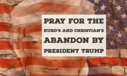 Franklin Graham Ask for Prayers for the Kurd's and Christians Abandon by Trump