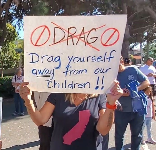 "San Diego MassResistance parents protesting ""Drag Queen Story Hour"" at library confront disgusting anti-Christian bigotry by LGBT activists"