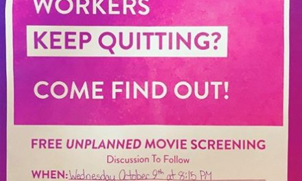 'Unplanned' Screening Drama – A Story in Pictures